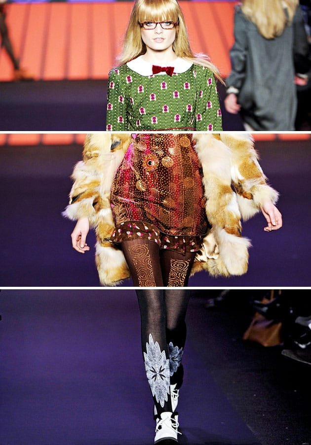 Anna Sui Fall 2011 Ballets Russes Details