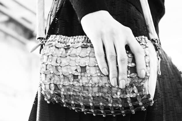 Catherine Malandrino Fall 2011 Accessories Asfalto Bejeweled Pochette Bag