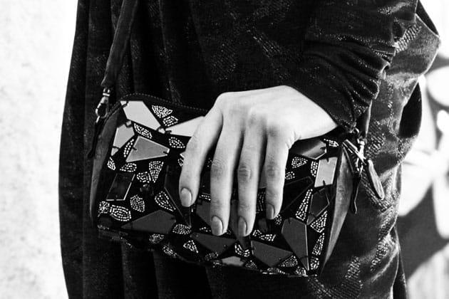 Catherine Malandrino Fall 2011 Accessories Embroidered Pochette Bag