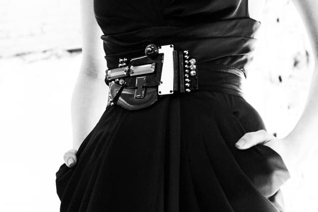 Catherine Malandrino Fall 2011 Accessories Bejeweled Belt