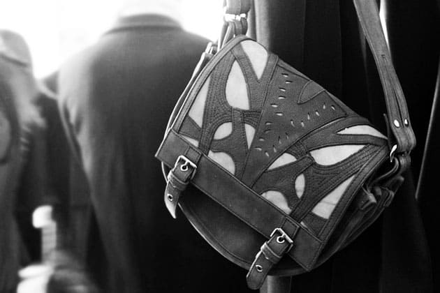Catherine Malandrino Fall 2011 Accessories Saddle Bag