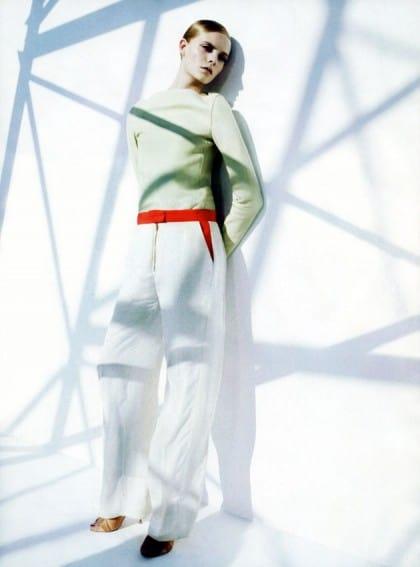 Harper's Bazaar March 2011 Editorial Celine