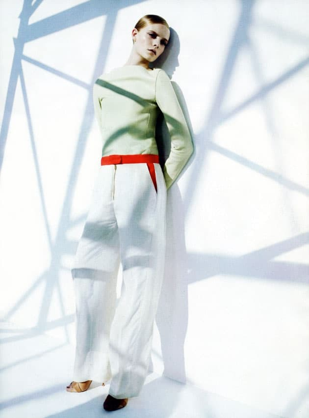 Harper's Bazaar March 2011 Editorial Celine