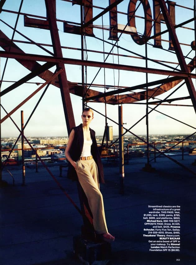 Harper's Bazaar March 2011 Editorial Michael Kors