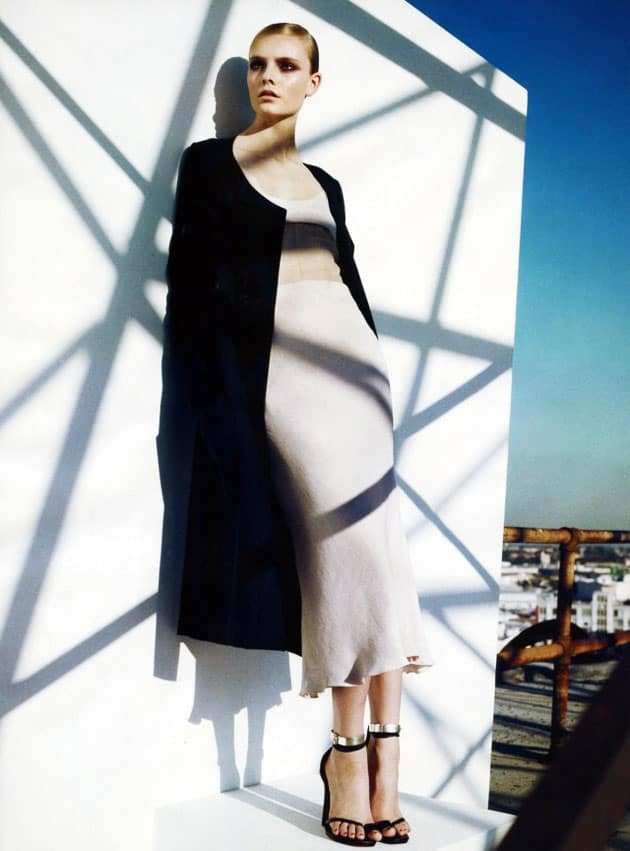 Harper's Bazaar March 2011 Editorial Narciso Rodriguez