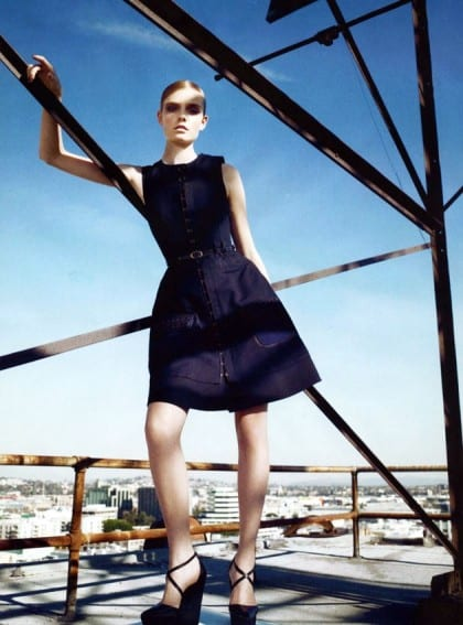 Harper's Bazaar March 2011 Editorial Proenza Schouler