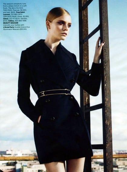 Harper's Bazaar March 2011 Editorial Yves Saint Laurent