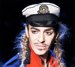 John Galliano Arrested And Suspended From Dior