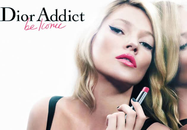 Kate Moss Dior Beauty Spring 2011 Campaign Addict Lipstick
