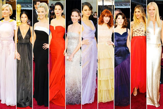 Oscars 2011 Red Carpet Best Dressed Cate Blanchett Marisa Tomei