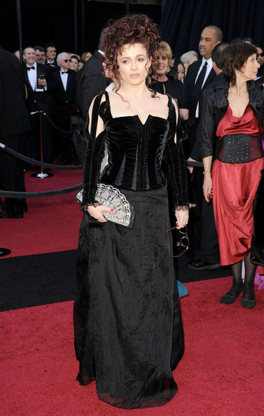 Oscars 2011 Red Carpet Helena Bonham Carter Wears Colleen Atwood