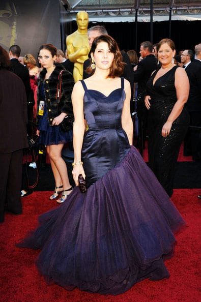 Oscars 2011 Red Carpet Marisa Tomei Wears Vintage Charles James