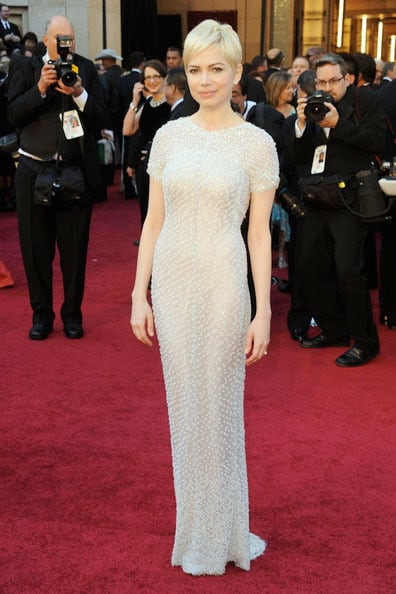 Oscars 2011 Red Carpet Michelle Williams Wears Chanel