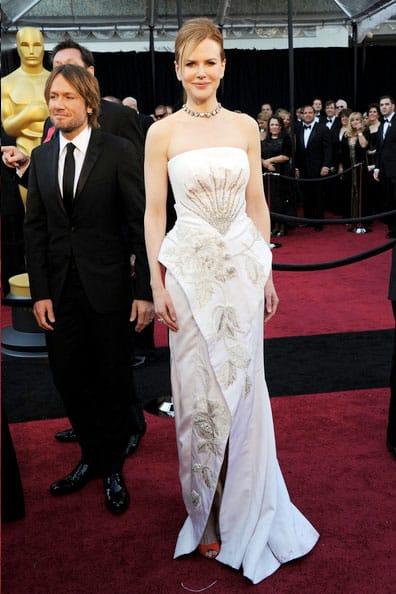 Oscars 2011 Red Carpet Nicole Kidman Dior