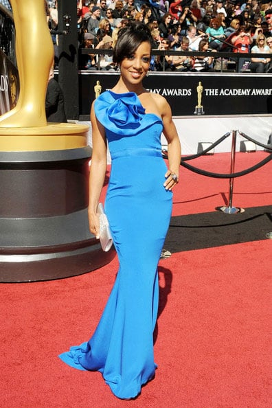 Oscars 2011 Red Carpet Shaun Robinson Wears Christiane King