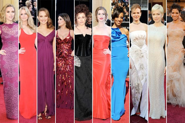 Oscars 2011 Red Carpet Worst Dressed Nicole Kidman Scarlett Johansson