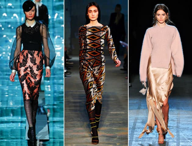 2011 CFDA Awards Womenswear Nominees Proenza Schouler Marc Jacobs Alexander Wang