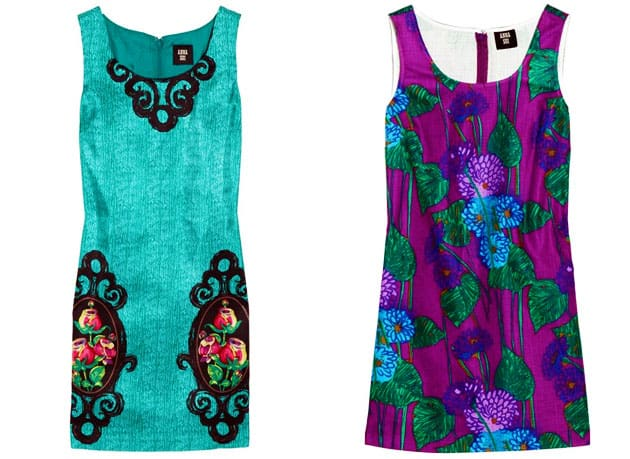Anna Sui For TheOutnet Floral Print Shift Dress