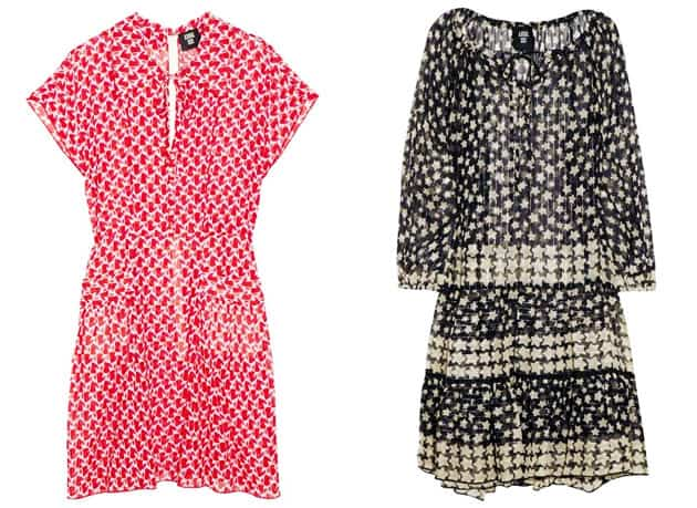 Anna Sui For TheOutnet Star Print Dress