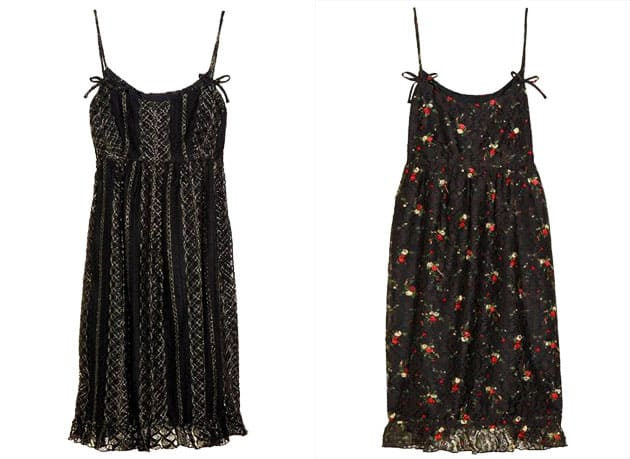Anna Sui For TheOutnet Strappy Shift Dress