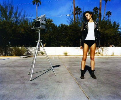 Bambi In 10 Magazine Spring 2011 Issue Wearing Chloe Top