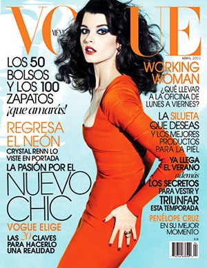 Crystal Renn On Vogue Mexico April 2011 Cover