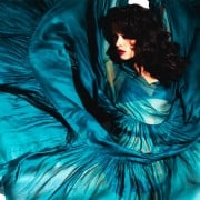 Crystal Renn In Vogue Mexico April 2011 Wearing Turquoise Full Dress