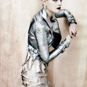 Guinevere Van In Seenus Vogue China April 2011 Editorial Full Metal Jacket Wearing Burberry Prossum