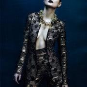 Guinevere Van In Seenus Vogue China April 2011 Editorial Full Metal Jacket Wearing Louis Vuitton