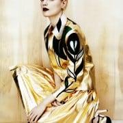 Guinevere Van In Seenus Vogue China April 2011 Editorial Full Metal Jacket Wearing Miu Miu