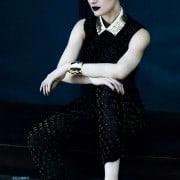 Guinevere Van In Seenus Vogue China April 2011 Editorial Full Metal Jacket Wearing 3.1 Phillip Lim