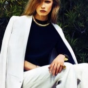 Jenny Sinkaberg In Elle April 2011 Editorial - Calvin Klein