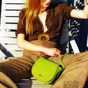 Jenny Sinkaberg In Elle April 2011 Editorial - Escada