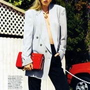 Jenny Sinkaberg In Elle April 2011 Editorial - Giorgio Armani