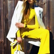 Jenny Sinkaberg In Elle April 2011 Editorial - Max Mara