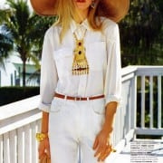 Jenny Sinkaberg In Elle April 2011 Editorial - Ralph Lauren