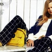 Jenny Sinkaberg In Elle April 2011 Editorial - Tommy Hilfiger