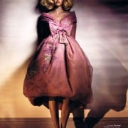 Lara Stone In W April 2011 Couture Editorial Wearing Dior Haute Couture