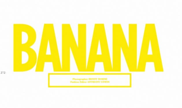 Wonderland March 2011 Banana Editorial
