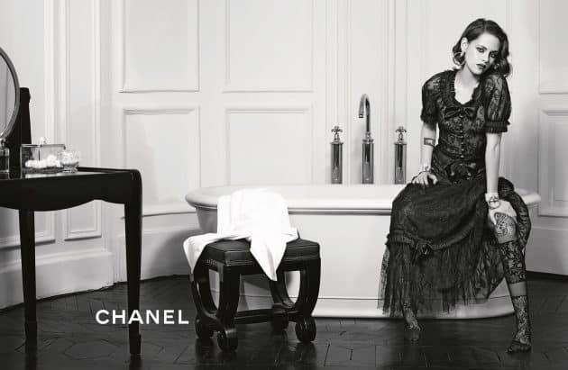 Kristen Stewart's Pre Fall 2016 Chanel Campaign (pic: courtesy)