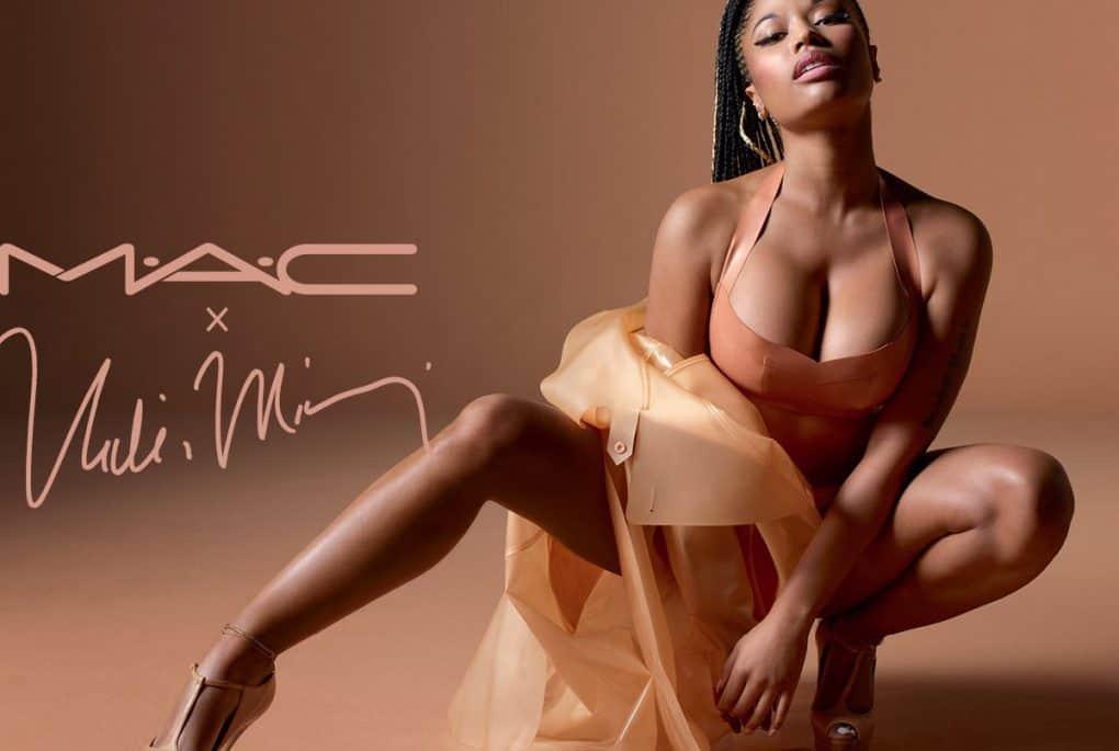 Nicki Minaj's nude lipstick collection gor MAC (pic: courtesy)
