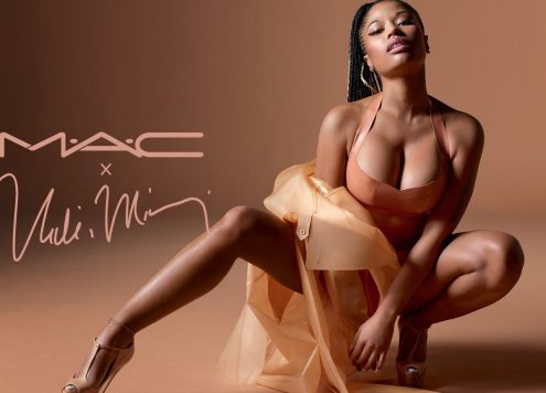 Nicki Minaj's nude lipstick collection gor MAC (pic: courtesy)