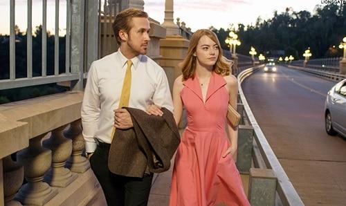 Ryan Gosling and Emma Stone, La La Land (Pic: Courtesy)