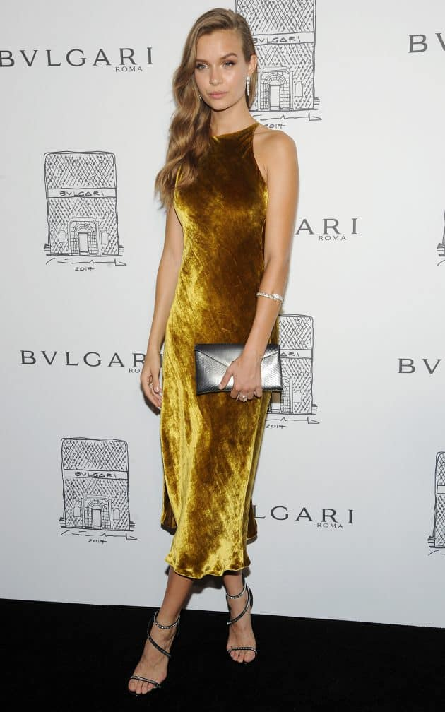 Josephine Skriver Bulgari flagship store opening celebration, Arrivals, New York.Photo by Broadimage/REX/Shutterstock