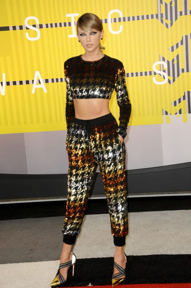 Taylor Swift at MTV Music Video Awards, Pic: Picture Perfect/REX/Shutterstock (5012169i)