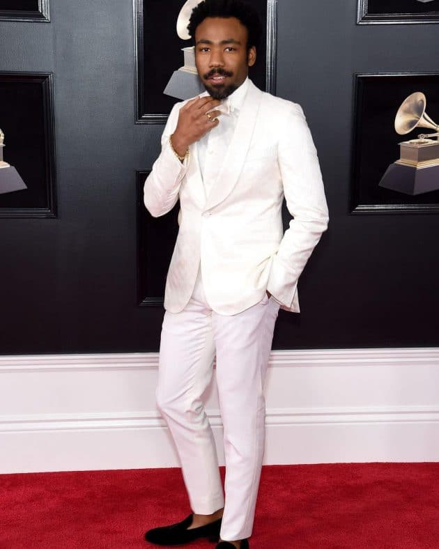 Childish Gambino at the 60th Grammy Awards (Pic: Instagram)