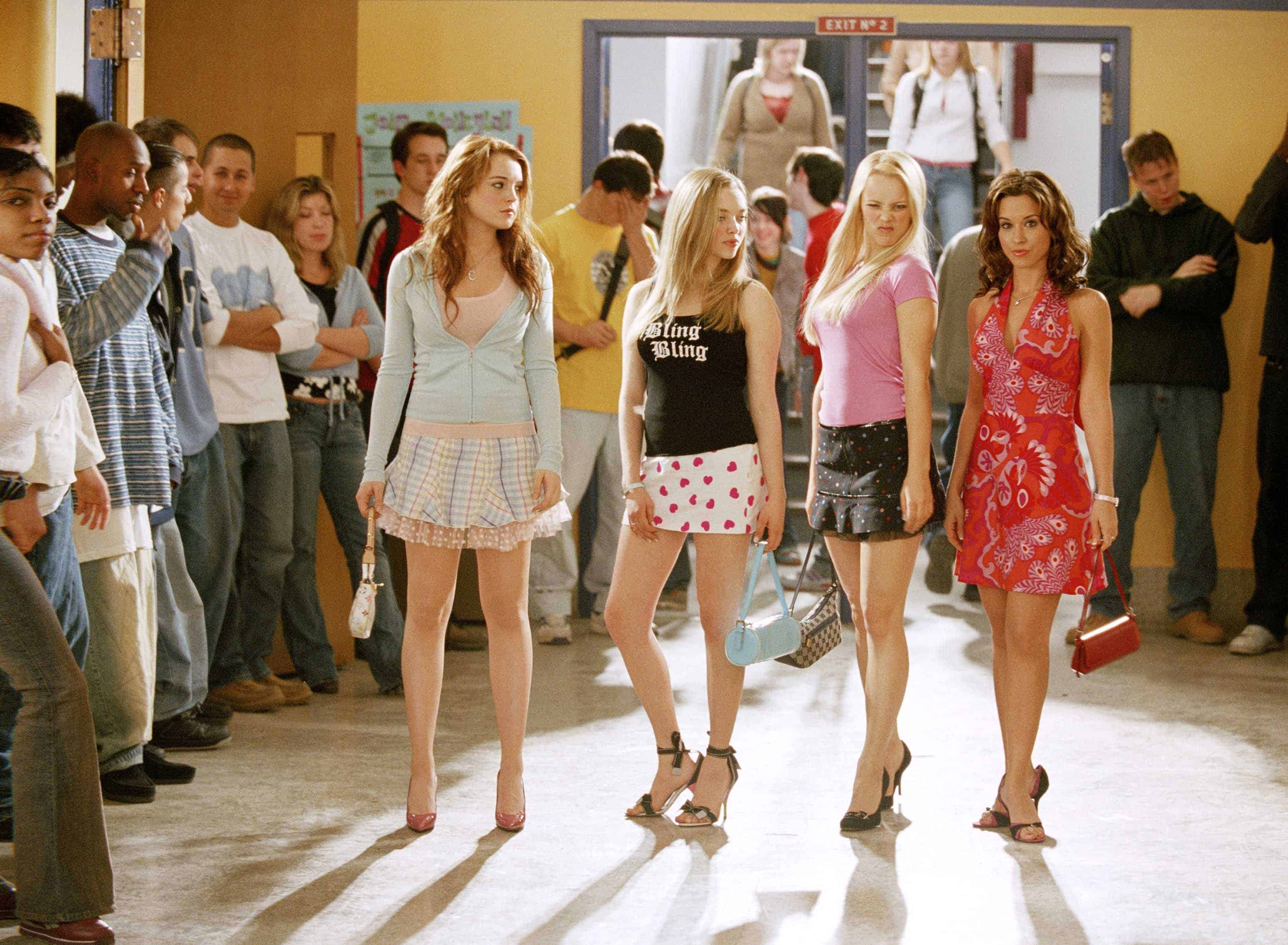 Mean Girls, Lindsay Lohan, Amanda Seyfried, Rachel Mcadams, Lacey Chabert